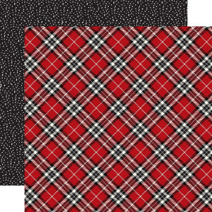 Papier Carta Bella - Christmas Delivery - Christmas Plaid