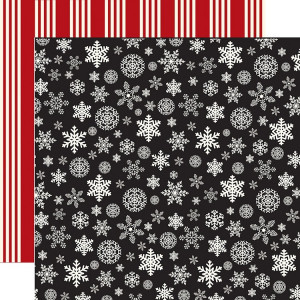 Papier Carta Bella - Christmas Delivery - Christmas Snowflakes