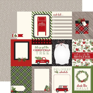 Papier Carta Bella - Christmas Delivery - Journaling Cards 3x4