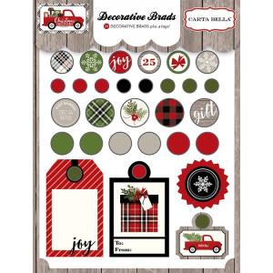 Ćwieki dekoracyjne Carta Bella - Christmas Delivery