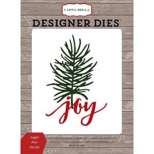 Wykrojniki Carta Bella - Christmas Delivery - Joyful Pine