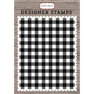 Stemple Carta Bella - Christmas Delivery - Christmas Plaid A2