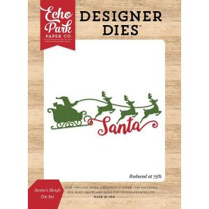 Wykrojniki Carta Bella - I Love Christmas - Santa's Sleigh