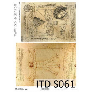 Decoupage Paper Soft ITD S061