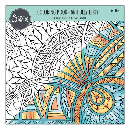 Kolorowanka Sizzix - Artfully Edgy