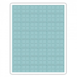 Folder do embossingu Sizzix - Stitched Plaid