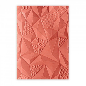 Folder 3D do embossingu Sizzix - Jumbled Triangles
