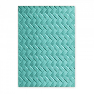 Folder 3D do embossingu Sizzix - Woven