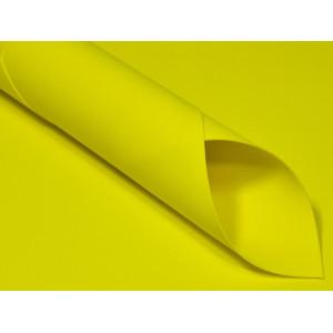 Pianka Foamiran - 30 x 35 cm - Żółta