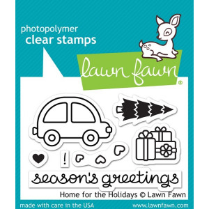 Stemple Lawn Fawn - Home for the Holidays
