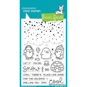 Stemple Lawn Fawn - Snow Cool