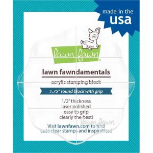 Bloczek akrylowy do stempli - Lawn Fawn - 6 cm