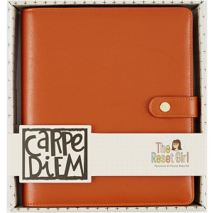 Organizer - Reset Girl Planner - Simple Stories - Persimmon - A5