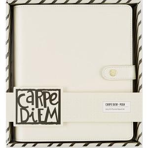Organizer z dodatkami - Carpe Diem, Posh Planner - Simple Stories - Ivory - A5