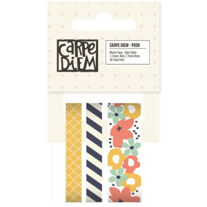 Tasiemki Washi Sew Crafty - Carpe Diem, Posh - Simple Stories