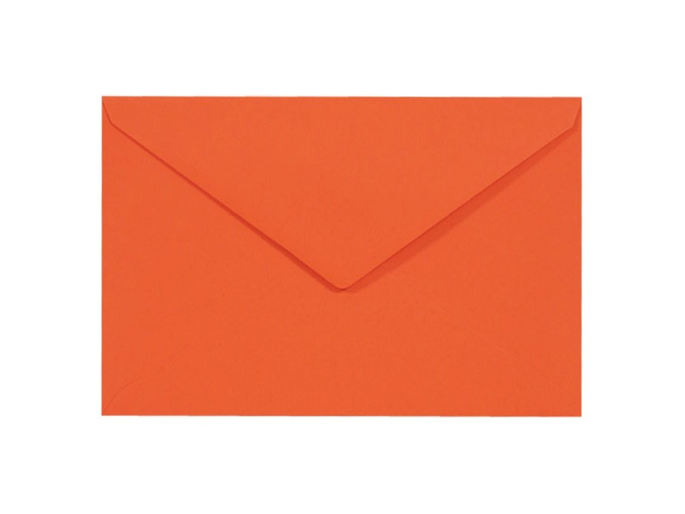 Sirio Color Envelope 115g - C6, Arancio, orange