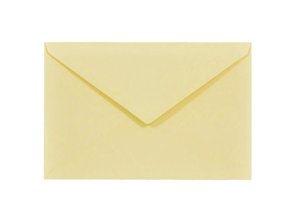 Sirio Color Envelope 115g - C6, Paglierino, vanilla