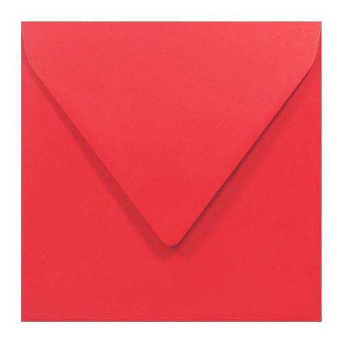 Koperta Sirio Color 115g K4 Lampone, czerwona