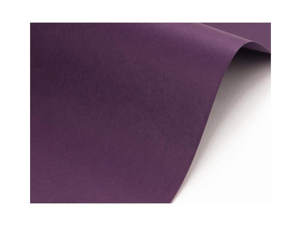 Papier Sirio Color 115g - Vino, fioletowy, A4, 20 ark.