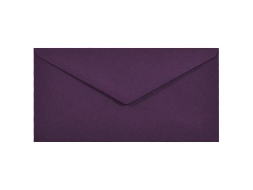 Koperta Sirio Color 115g - DL, Vino, fioletowa