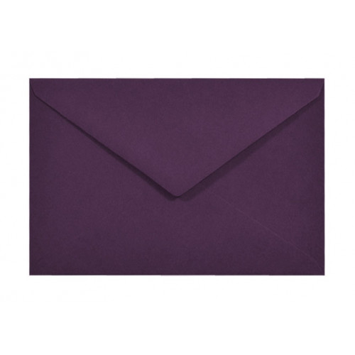 Koperta Sirio Color 115g - C6 Vino, fioletowa