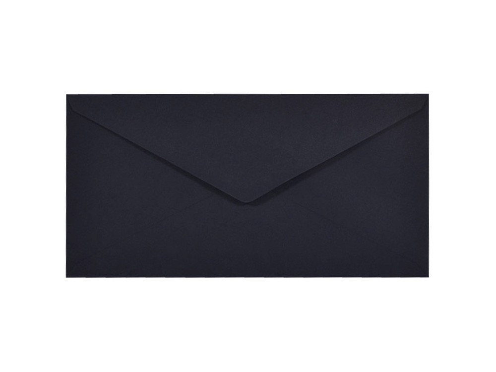 Sirio Color Envelope 115g - DL, Dark Blue, navy blue