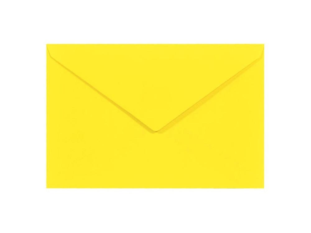 Sirio Color Envelope 115g - C6, Limone, yellow