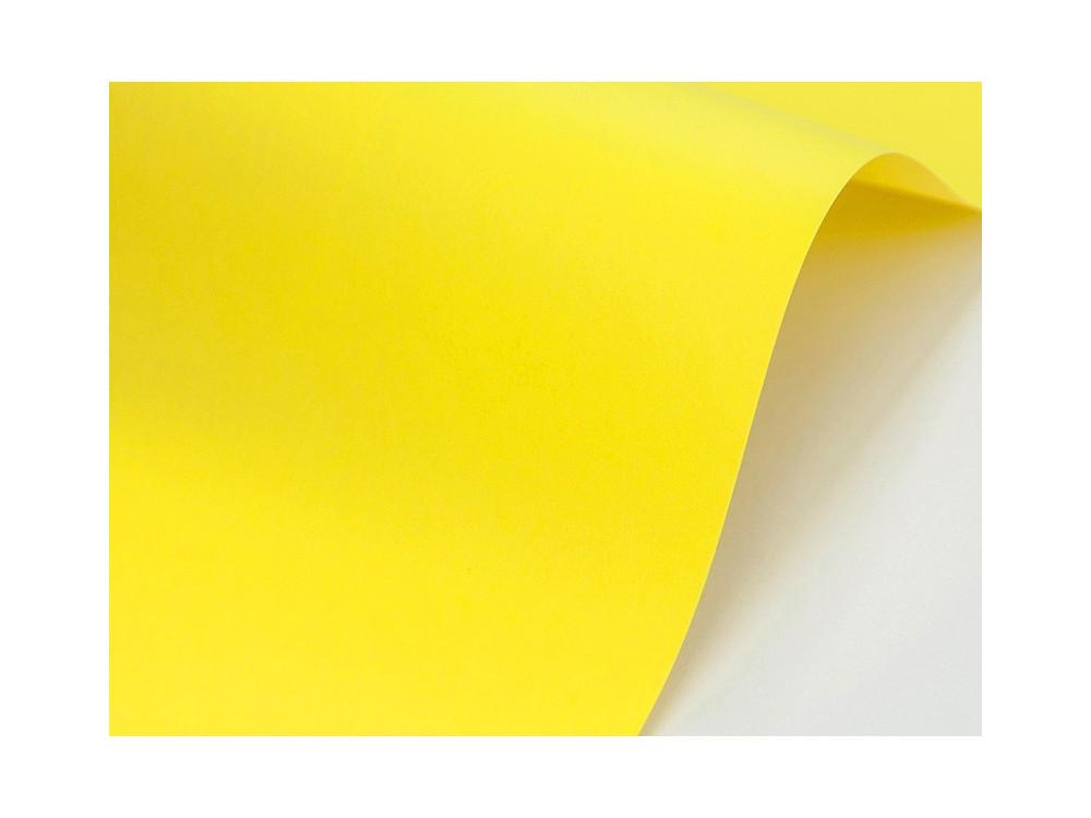 Papier Sirio Color 210g - Limone, żółty, A4, 20 ark.