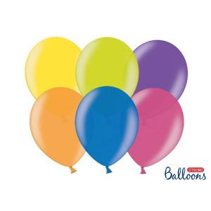 Balony Strong 27 cm Metaliczne Mix 100 szt.