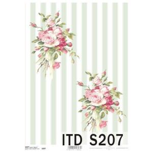 Papier decoupage soft ITD S205