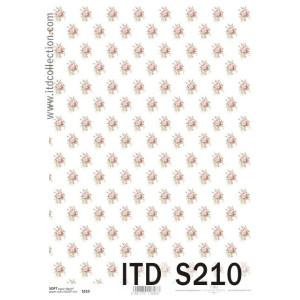 Papier decoupage soft ITD S208