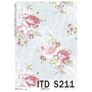Papier decoupage soft ITD S210