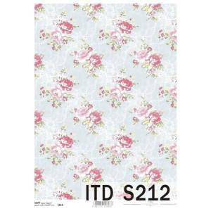 Papier decoupage soft ITD S211