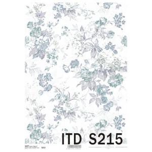 Papier decoupage soft ITD S213