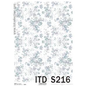Papier decoupage soft ITD S215