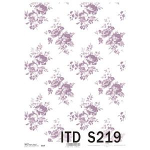Papier decoupage soft ITD S216