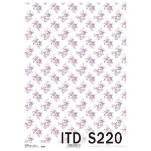 Papier decoupage soft ITD S219