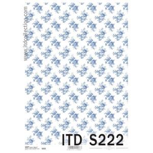 Papier decoupage soft ITD S221