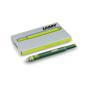 Naboje atramentowe Lamy T10 5 szt. zielone