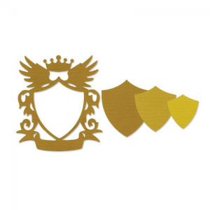 WYKROJNIK - Frame, Shield w/Crown & Wings
