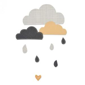 Wykrojnik Sizzix Bigz - Cloudy Days