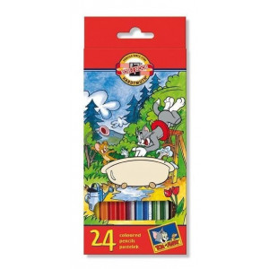 Kredki 3652 Koh-I-Noor - Tom&Jerry - 12 szt.
