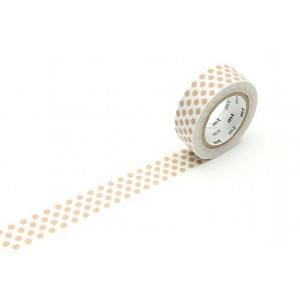 Taśma washi Making Tape - Dot Soda - 10 m