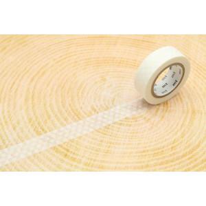 Taśma washi Making Tape - Dot Silver - 10 m