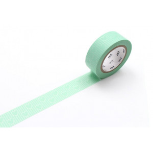 Taśma washi Making Tape - Dot Black - 10 m