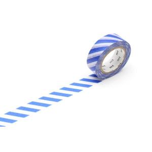 Taśma washi Making Tape - Stripe Grayish Sjy - 10 m