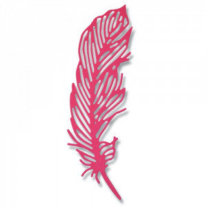 Wykrojnik Sizzix Thinlits Die - Delicate Feather