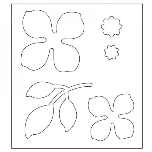 Wykrojnik Sizzix Bigz Die - Asian Flower