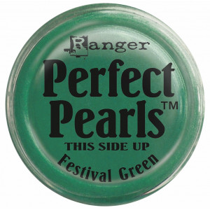 Perfect Pearls Pigment Powders - Ranger - Confetti White