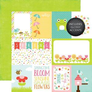 Papier Echo Park - Celebrate Spring - Blooming Flowers